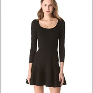 Juicy Couture Black Banded Mini Dress